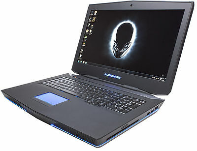 ALIENWARE 18 Gaming Laptop 3.9Ghz 32GB Ram 1TB SSD GTX 970 SLI WIN 10 PRO