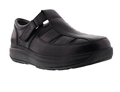 New Joya Fisherman Black Men's Casual Velcro Sandal UK 12