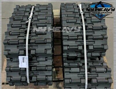 Two Steel Tracks Caterpillar Fits 299d2 Xhp Cat 3041909 Demo Scrap Application
