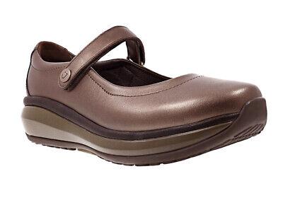 New Joya Mary Jane II Bronze Women's Velcro Shoe UK 5 Ex Sample
