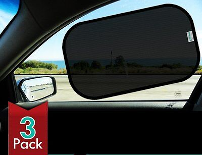 Car Sun Shades for Maximum UV protection - 3 pack