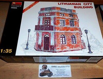 WWII für Dioramenbau Litauisches Stadthaus  1:35 MiniArt 35504  Neu