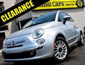 2012 Fiat 500 Lounge Cabrio! BOSE+A/C! ONLY $100/bi-weekly!