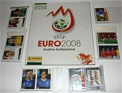 EURO 2008 Panini EMPTY ALBUM + FULL STICKERS SET figurine 84 88...
