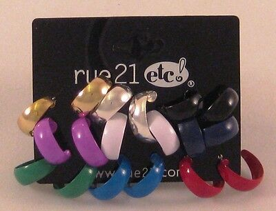 12 Sets Of 9 Pair Earrings (108 Pairs) By Rue21 E1007