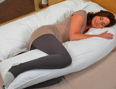 NEW Oversized Comfort Total Body full support Pregnancy Maternity Pillow U Shape