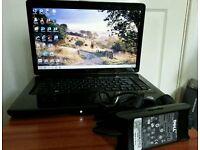 "Dell Inspiron 1545 Pentium Dual-Core CPU T5800 @ 2.00GHz 250/3GB DVD±RW 15.6"" Win 7 Prof Laptop"