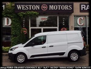 2014 Ford Transit Connect XL* A/C* AUTO* LOW KM* WON'T LAST LONG