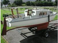 19ft Seawych Trailer Sailer
