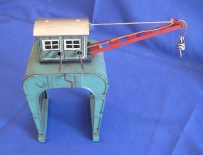 #402-Ladekran Torkran Portalkran Blechspielzeug Modellbahn 50er Jahre