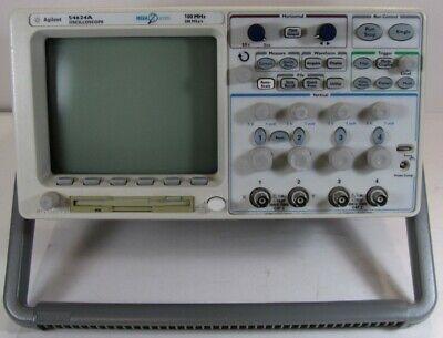 Agilent 54624a 4 Channel Oscilloscope Megazoom 100 Mhz 200 Msas
