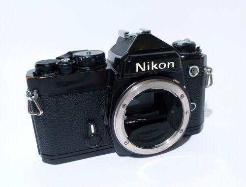 Black Nikon FE SLR 35mm Camera Body
