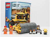 Details about Lego City 7746 Single Drum Roller. 100% complete with very good condition Lego.