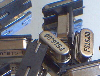 10x 16mhz 16.000mhz 16.00mhz Smd Smt Hc-49s Crystal Oscillators - 10pcs