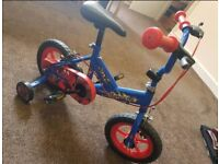 Lovely Child's Bike with Stabilisers Never Used Mint Condition Can Deliver