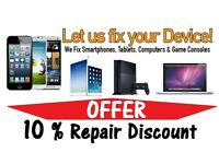 Mobile Phone Repairs / iPhone / iPad / Samsung & Unlocking Mobile phones, Computer &Tablets Repair