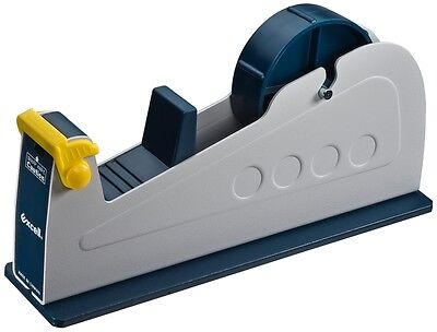 T.r.u. Et-117 Bluegrey Premium Steel Desk Top Tape Dispenser 1 In. Wide