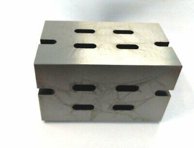 Precision Graded Caste Iron Vee Angle Plates-heavy Duty4x4x6100x100x150mm