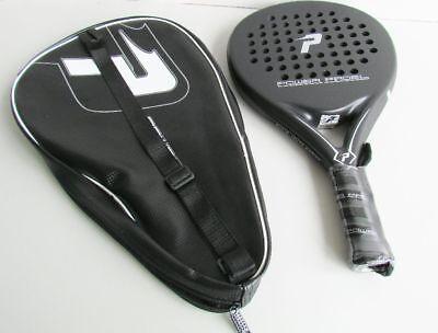Padel Power Padel 0103 Tennisschläger, 45 x 4 x 25cm, schwarz, Z66
