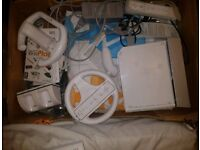 Joblot Wii console with game and controller and Wii fit