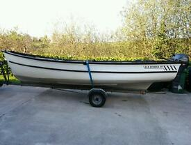 19 ft lee fisher boat