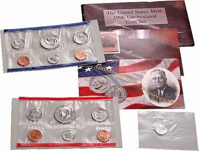 1996 US Mint Uncirculated Complete Set