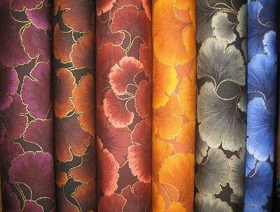 Kona Kona Bay Bay (Patchwork Quilt Stoff - Kona Bay Ginkgo Tonals Blätter EMPR-17  (16,- €/m))