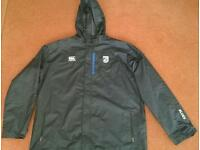 Cardiff Blues Player Issue 2XL Waterproof Jacket