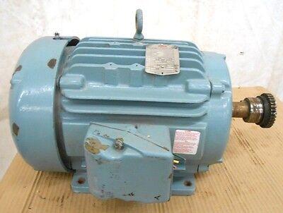 Baldor Super E Motor Ecp233t-4 15 Hp 1765 Rpm 460 Vac 254t Frame