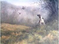 Limited Edition sporting print by wildlife artist Jonathan Sainsbury