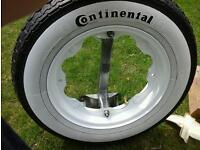 Lambretta wheel holder