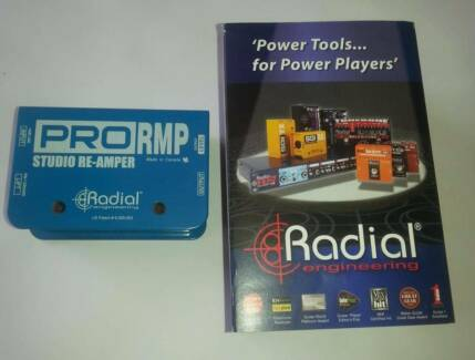 Radial Engineering Pro RMP re-amper Sunnybank Brisbane South West Preview