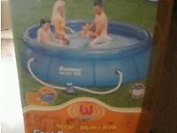 Large now filter swimming pool cost £300.00 accept £50.00