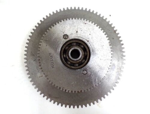 UNKNOWN BRAND - LATHE GEAR CLUSTER, 76T/80T.