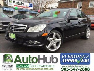 2012 Mercedes-Benz C-Class NAVIGATION-4MATIC-LEATHER-SUNROOF|