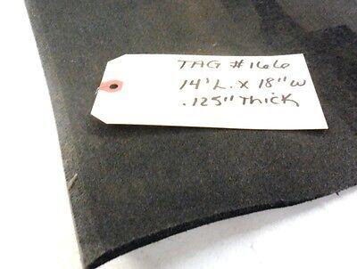 Unknown Brand Conveyor Belt 14 L. 18 W. .125 Thick Black Nitrile