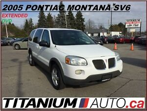 2005 Pontiac Montana SV6+DVD+Extended+One Owner+Front & Rear A/C London Ontario image 1