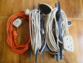 5 x Extension Leads - Good condition