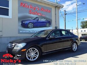2013 Mercedes-Benz C 300 4MATIC, SPORT PKG, SUNROOF! ***GREAT DE