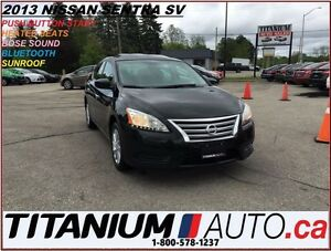 2013 Nissan Sentra SV+Sunroof+Heated Seats+BlueTooth+Bose Sound+