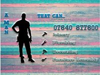 A Man That Can - Handyman Service - House Help available in Halifax, Bradford, Huddersfield.