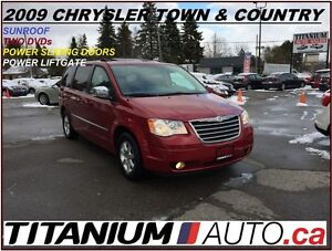 2009 Chrysler Town & Country Camera+Power Sliding Doors+3 DVD's+
