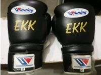 New customized winning boxing gloves with name or any logo