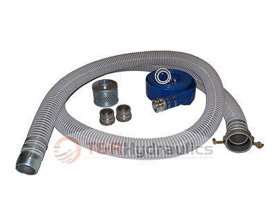3 Flex Fcam X Mp Water Suction Hose Trash Pump Complete Kit W50 Blue Dis
