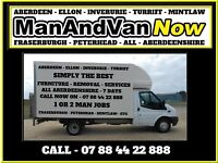 MAN & VAN - & - FURNITURE REMOVAL SERVICES - 7 DAYS - free est