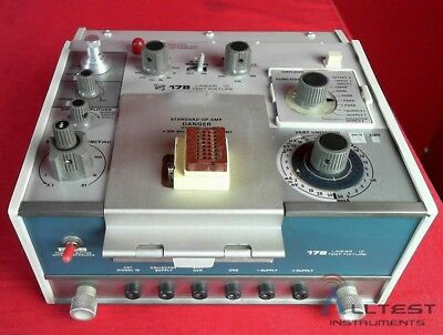 Tektronix 178 Linear Ic Test Fixture For The 577 Curve Tracer