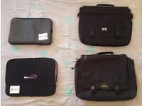 CHEAP LAPTOP CASES OR BAGS FOR PAPERWORK!! From 13 inces to 19 inches!! From Ł3!!