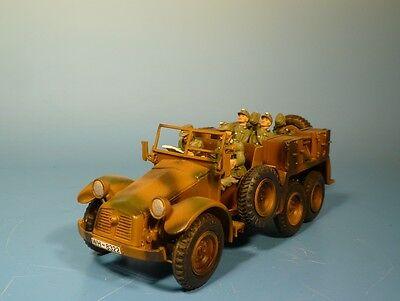 Orig.Lineol (Elastolin) Wehrmacht – Metall – Krupp Protze - für 7cm Figuren