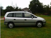 2001 Vauxhall Zafira 1.6 Manual 7Seater With Long MOT PX Welcome