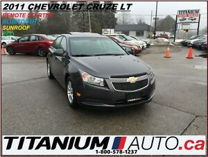 2011 Chevrolet Cruze LT+Remote Starter+Sunroof+BlueTooth+Alloys+